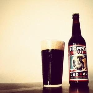 Birra Red Ale con luppolo autoprodotto del Gargano Azienda Agricola Vocino
