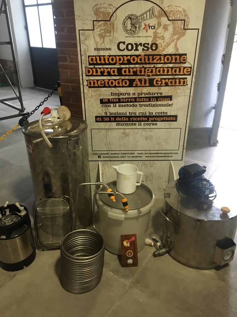 Corso birra Staffetta