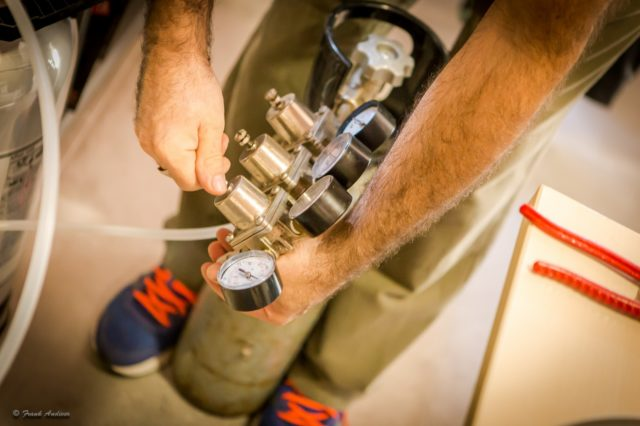 riduttore di pressione per bombola CO2