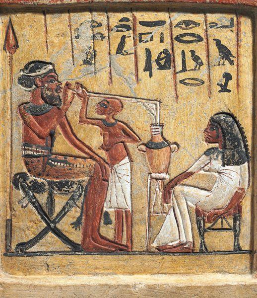 Gli egiziani, inventori della birra?